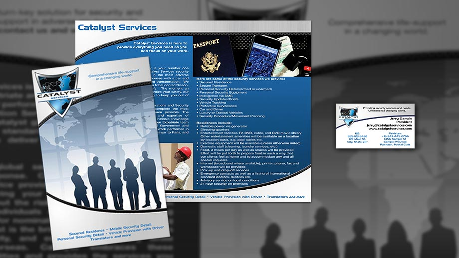 Branding - Catalyst Services