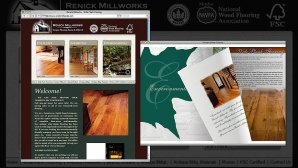 Website Design - Renick Millworks